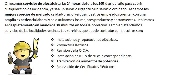 Electricistas Aspárrena 24 horas